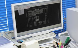 パソコンの作業画面の画像